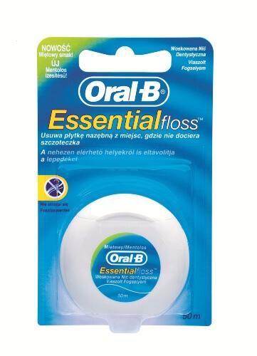 Dantų siūlas 50 m Oral-B Essential floss